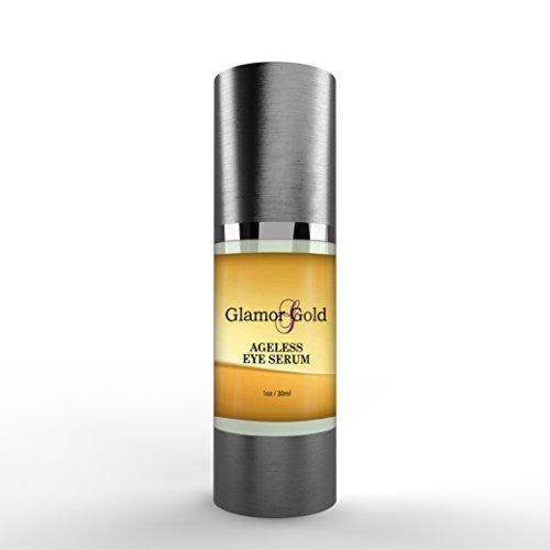 Glamor Gold Eye Serum- Best Under Eye Treatment For Fine Lines and (Cellular Wrinkle Treatment)