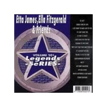 Etta James, Ella Fitzgerald & Friends Karaoke Disc - Legends Series CDG [KARAOKE]