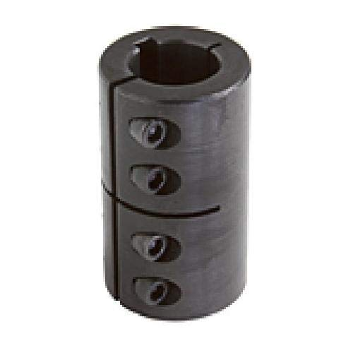 GSCC-Series Clamp Coupling Pack of 2 pcs Climax Metal ISCC-150-150-KW Steel Black Oxide