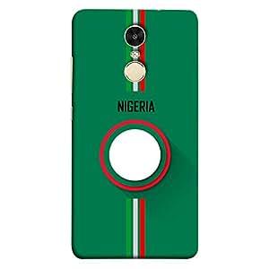 ColorKing Xiaomi Redmi 5 Football Green Case shell cover - Fifa Nigeria 01