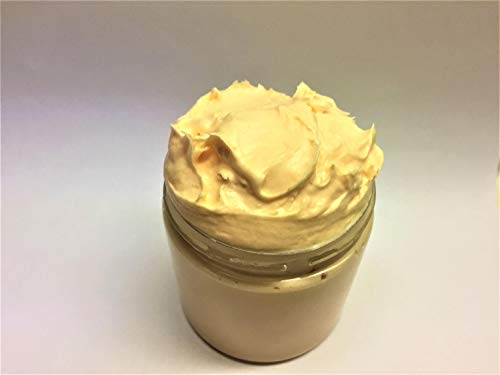Brown Sugar and Fig Whipped Soap, Fluffy Cream Soap, Soap In a Jar, Handmade, 4 fl oz (Sugar Whipped Handmade)