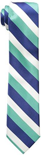 Wembley Big Boys Wembley Boys Tri-color Stripe Tie, Teal, OS