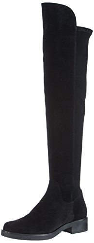 Buffalo London 2071 Damen Over-Knee Stiefel Schwarz (NEGRO 01)