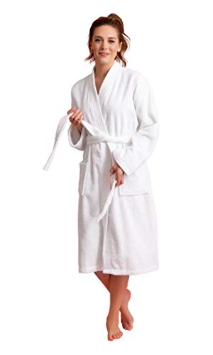 Soft Touch Linen Women's Robe, T...