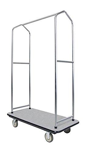 Ex-Cell Kaiser 780 EC Traveler's Series Economy Bellman's Cart, Steel, 1000 lbs Capacity, 43