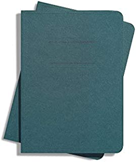 product image for Shinola Journal, Paper, Ruled, Forest Green (3.75x5.5): Pack of 2