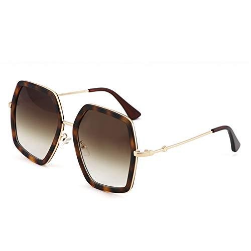 Lunettes surdimensionnées rétro personnalité lunettes soleil de de soleil de polygonales NIFG dtqW4AZwfd