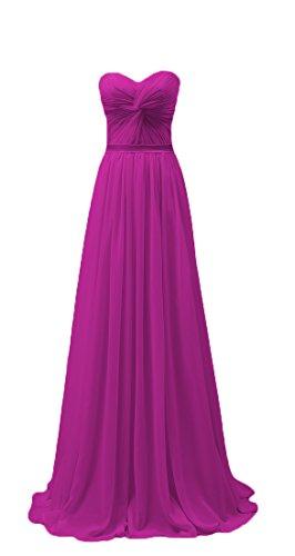Bridal_Mall - Robe - Trapèze - Sans Manche - Femme -  rose - 46