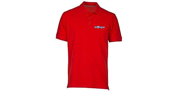 Speed Shirt Polo por Hombre Rojo WC0211 Bayern Munich I Love ...