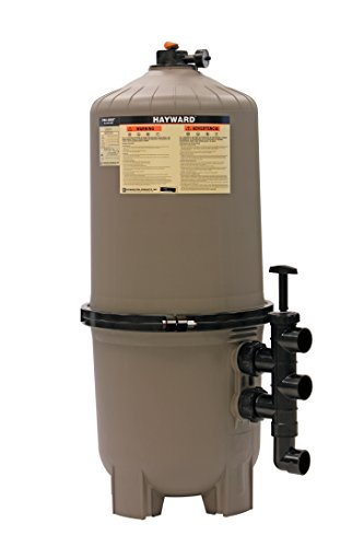 Hayward DE7220 ProGrid D.E. Pool Filter, 72 Square Foot, Vertical Grid