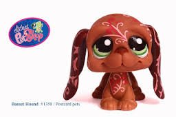 Littlest Pet Shop Basset Hound #1358