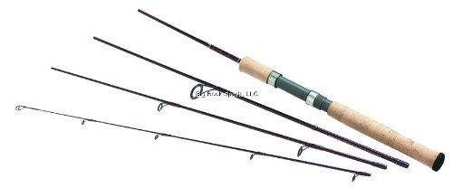 Daiwa Wildnerness Medium Action Spin Pack Rod,(6 1/2-Feet), Outdoor Stuffs
