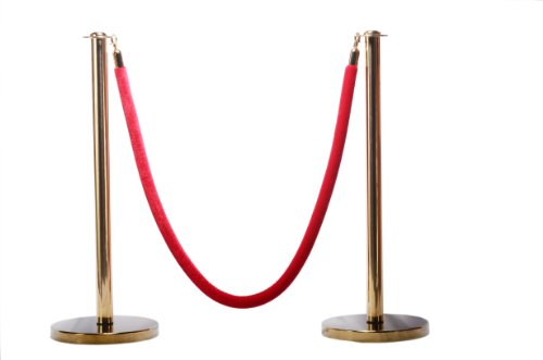 - Rope Stanchion Set in 3 PCS, 72