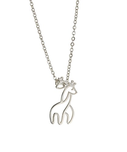 giraffe macy online silver in necklace buy featured and ct for pendant sterling s fpx diamond gold over shop