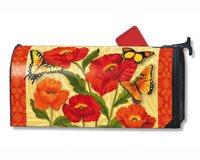 Orange Poppies MailWrap #02766
