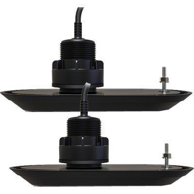 (Raymarine Axiom RV-320 RealVision 3D Plastic Thru Hull 20° Low Profile Split Transducer Pair)