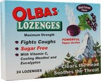 Olbas Lozenges Sugar Free, 24 LOZ (Pack of 24)