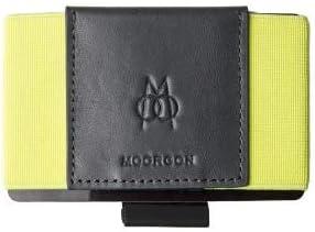 Cartera Minimalista Premium, Apertura Horizontal, Tarjetas, Billetes y Monedas | Bright Yellow