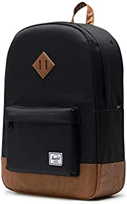 Amazon.com   Herschel Heritage Backpack-Black   Casual Daypacks 6975bfd4a3