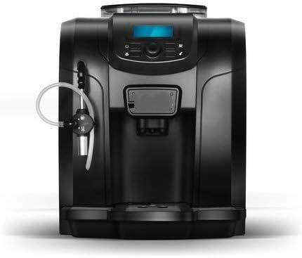 Cafetera Máquina de café casa automática comercial pequeño Mini recién molido de la cafetera de vapor de la haba: Amazon.es: Hogar