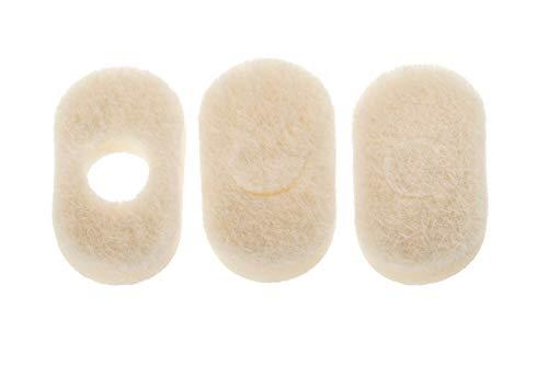 - White Orthopedic Corn Pedi Pads 10 Pack - (1 3/8