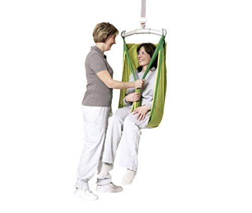 Solo High Back Sling Size Large (154-265 pounds) Model 25, Patient Lifting and Transfer Sling with Wrap Around Comfort Design