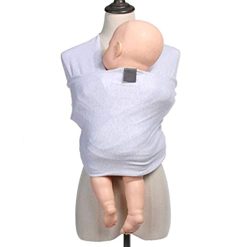 JBHURF Baby wrap and Baby Carrier Available in a Variety of Colors 4-in-1 Ring Sling: Baby Carrier, Postpartum Belt, Care Set, Baby Carrier Great Baby Carrier (Color : Beige, Size : One Size) - Nest Fiber Ring