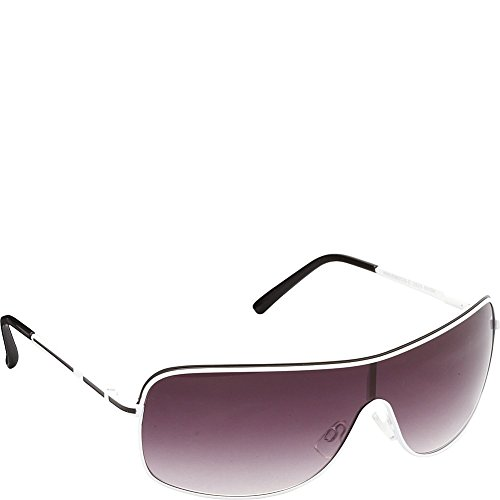union-bay-mens-u929-whbk-shield-sunglasses-white-black-151-mm