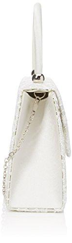 Jena SwankySwans Women's Ivory Clutch Off white Uf75fxT