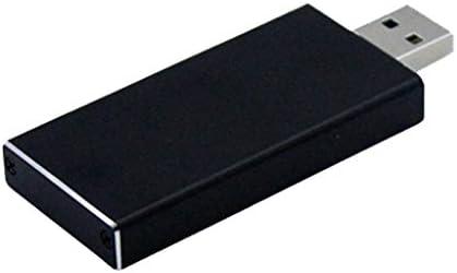 USB3.0〜M.2 NGFF SSDエンクロージャ 熱放散 軽量 耐久性 アルミ合金