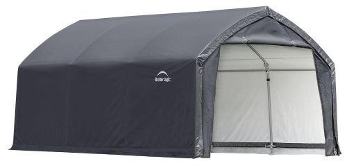 AccelaFrame HD 12 x 15 ft. Shelter Gray by ShelterLogic