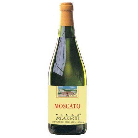MOSCATO di Pavia Villa Maggi Vino dulce italiano 75 cl.