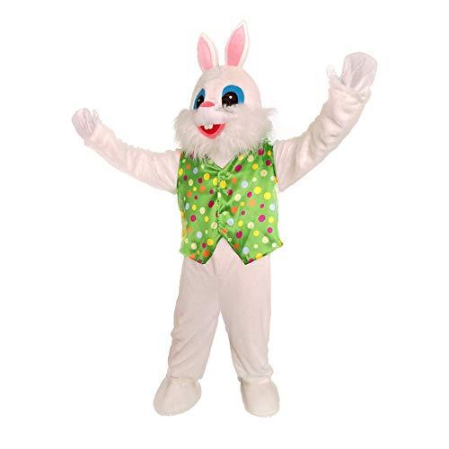 Mascot Costume Sale (New Easter Bunny Adult Costume Rabbit Halloween Mascot Costume Fancy)