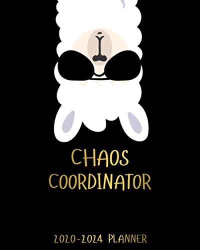 Chaos Coordinator 2020-2024 Planner: No Drama Llama Five Year Monthly Calendar & Schedule Agenda   Funky 5 Year…