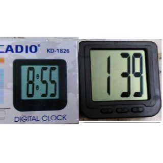 GOOSEBERRY® Kadio Car Dashboard Digital Clock Alarm Clocks at amazon
