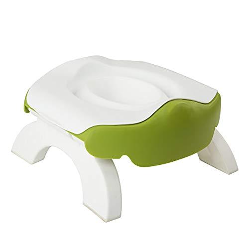 Baby Toilet Training Reizen Potty 2 in 1 Comfortabele Zitting Draagbare Opvouwbare Toilet Baby Training Potty Stoel…