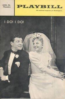 I Do! I Do! 46th Street Theatre Playbill (Original Cast Robert Preston & Mary Martin)