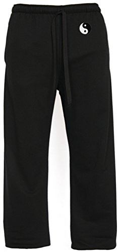Yoga Clothing For You Mens Yin Yang Lightweight Pants with Pockets