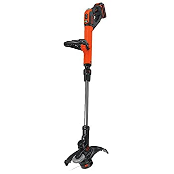 Black+decker Lste525 20v Max Lithium Easy Feed String Trimmeredger With 2 Batteries 1