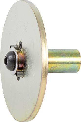PFERD 83979 5'' Drive Arbor for 5-6'' Diameter Disc Brush, 1'' Shank