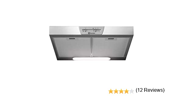 Electrolux Cooker Hood Wall LFU216X (271 M3/H; 598 MM; Steel Color): Amazon.es: Informática