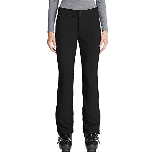 Bauer Soft Shell - Eddie Bauer Women's Alpenglow Stretch Ski Pants, Black Regular S