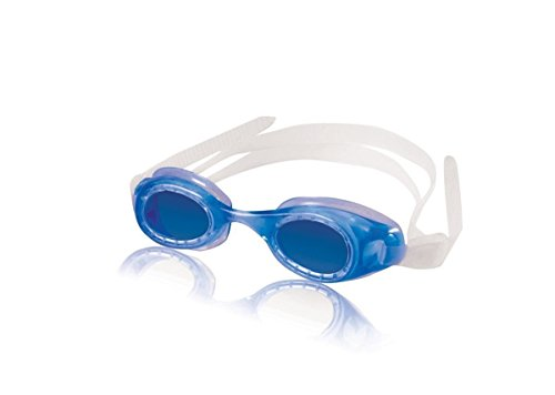 Price comparison product image Speedo Kids Hydrospex Swim-swimming Youth Goggles Pvc Frame Silicone Strap Blue