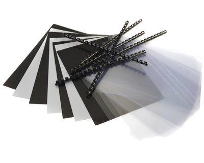 Einband-Starterset für Plastikbindung, 75 tlg. PAVO PA-8000012_EB_SET#1