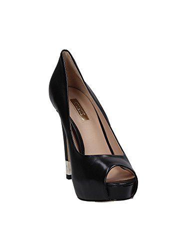 Guess FLHAD1LEA07 Platform Black Female 6 5 Heels 40 Size BLACK rrw0qAx