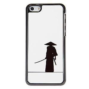 ZCL-Patrón Ninja Japanese duro caso para iPhone aluminoso 5C