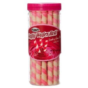 - Global Strawberry Waffy Wafer Roll, 5.7 oz (Pack of 12)