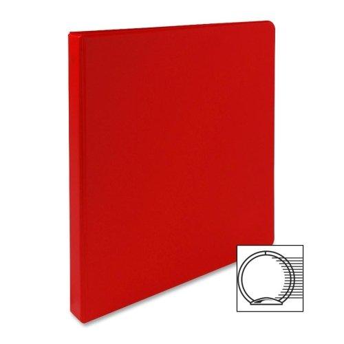 Wholesale CASE of 25 - Sparco Vinyl Ring Binders -3-Ring Binder, 1/2