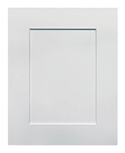 Cabinet Doors 'N' More 16'' X 22'' White RTF Shaker Recess Panel Kitchen Cabinet Door by Cabinet Doors 'N' More