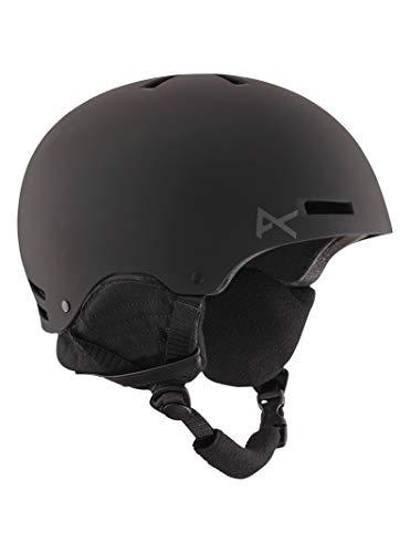Anon Raider–Casco de ciclismo de los hombres, tamaño mediano, color negro